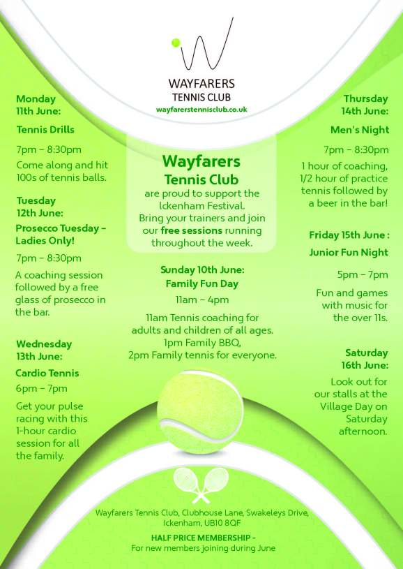 Wayfarers Ickenham Festival